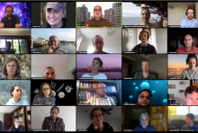 For its 2020 Annual Meeting, the CBIOMES group converged on Zoom.